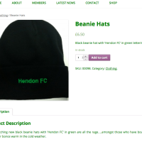 Hendon Supporters - Product - Built With WooCommerce