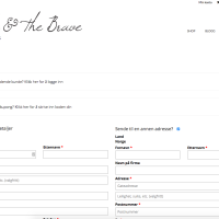 -Belle And The Brave - Checkout - Built With WooCommerce