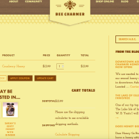 ashevillebeecharmer- cart- built with woocommerce