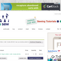 Sew Mama Sew - Cart - Built with WooCommerce