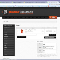 Jersey Basement -Cart - Built With WooCommerce