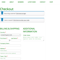 Hendon Supporters - Checkout - Built With WooCommerce