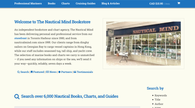 The Nautical Mind - WooCommerce Showcase