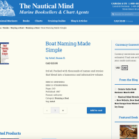 The Nautical Mind - Product - Built With WooCommerce